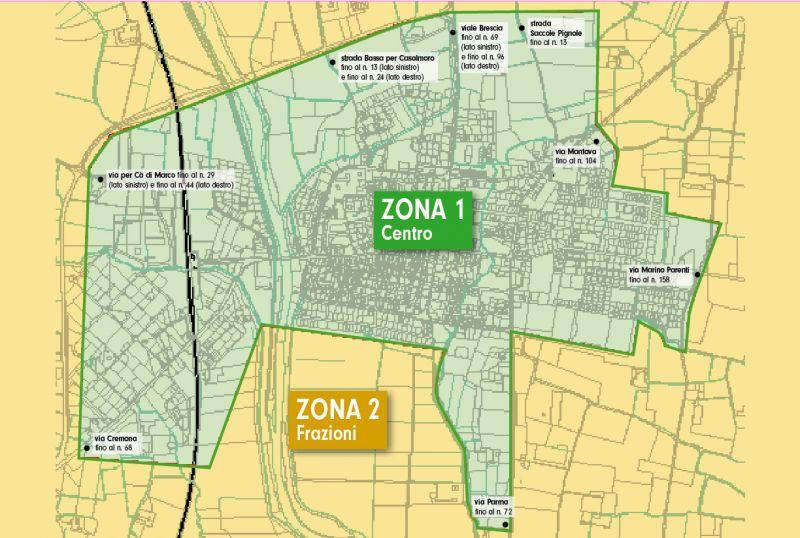mappa Asola
