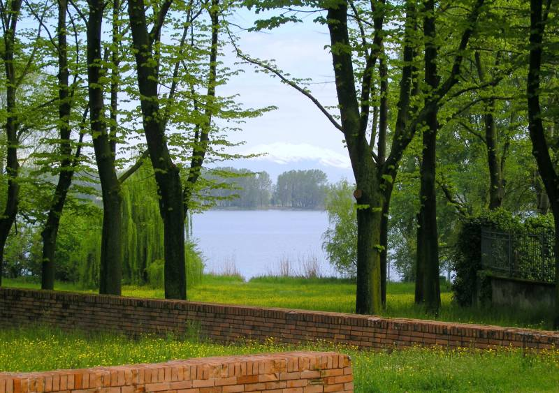 Veduta Giardini Belfiore a Mantova