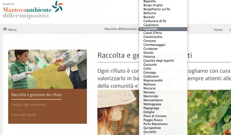 In Un Quartiere Di Una Citta Il Calendario Della Raccolta Differenziata.Online I Calendari Della Raccolta Differenziata Mantova